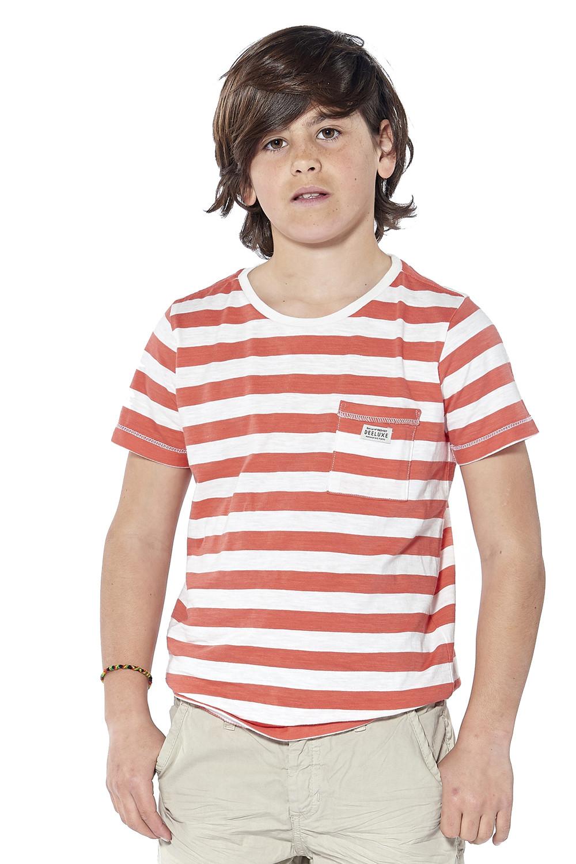 T-Shirt BORNEO Garçon S18132B (37076) - DEELUXE