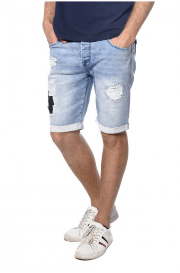 Short en denim destroy Bullet