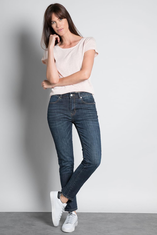 T-Shirt T-SHIRT GLITTER Femme W18113W (37377) - DEELUXE