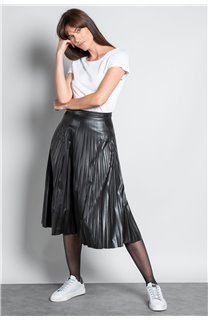 T-Shirt T-SHIRT GLITTER Femme W18113W (37383) - DEELUXE