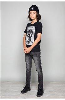 T-Shirt T-SHIRT CLEM Garçon W18124B (37617) - DEELUXE