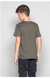 T-Shirt T-SHIRT CLEM Garçon W18124B (37625) - DEELUXE