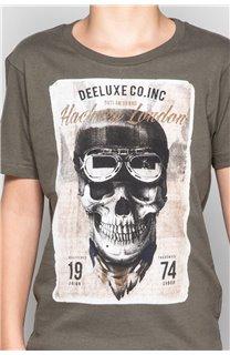 T-Shirt T-SHIRT CLEM Garçon W18124B (37626) - DEELUXE