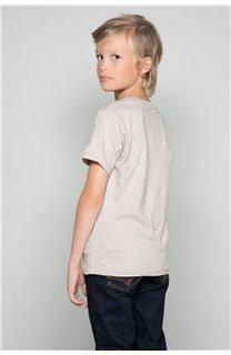 T-Shirt T-SHIRT CLEM Garçon W18124B (37628) - DEELUXE