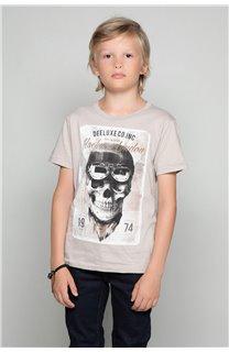 T-Shirt T-SHIRT CLEM Garçon W18124B (37630) - DEELUXE