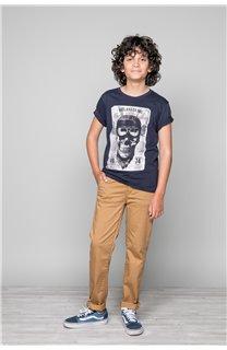 T-Shirt T-SHIRT CLEM Garçon W18124B (37632) - DEELUXE