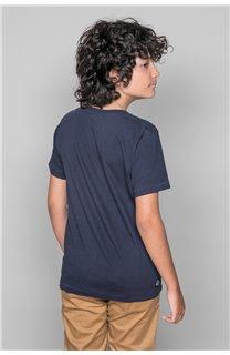 T-Shirt T-SHIRT CLEM Garçon W18124B (37633) - DEELUXE