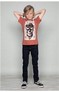 T-Shirt T-SHIRT CLEM Garçon W18124B (37637) - DEELUXE