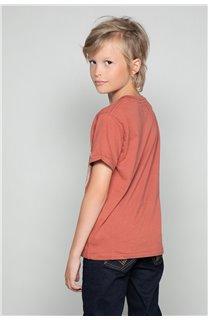 T-Shirt T-SHIRT CLEM Garçon W18124B (37638) - DEELUXE