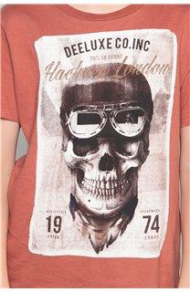 T-Shirt T-SHIRT CLEM Garçon W18124B (37641) - DEELUXE