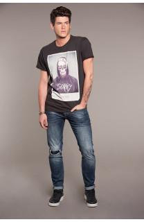 T-Shirt T-SHIRT JUST Homme W18143 (37872) - DEELUXE