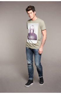 T-Shirt T-SHIRT JUST Homme W18143 (37877) - DEELUXE