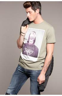 T-Shirt T-SHIRT JUST Homme W18143 (37879) - DEELUXE