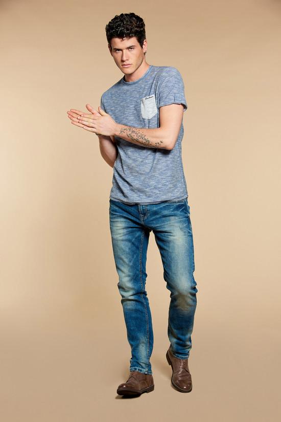 T-Shirt WYATT Homme W18194 (37890) - DEELUXE