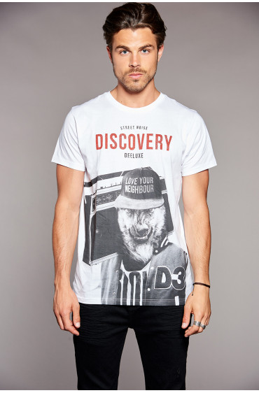 T-shirt DISCOVERY