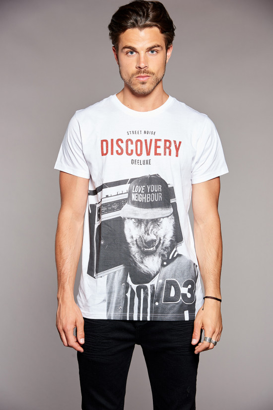 Deeluxe T-shirt DISCOVERY