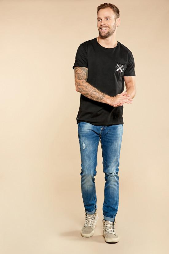 Deeluxe T-shirt SKULLFLOWER