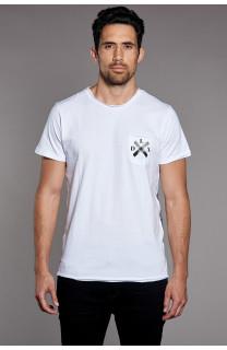 T-Shirt T-SHIRT SKULLFLOWER Homme W18165 (37982) - DEELUXE