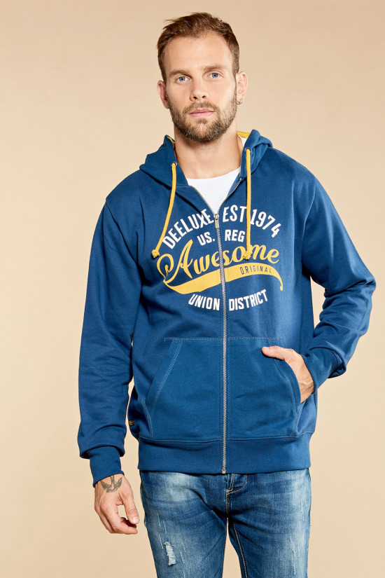 Sweat zippé LASTSONG Outlet Deeluxe