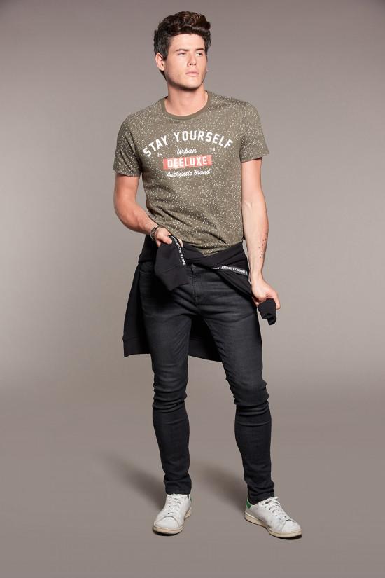 T-shirt POLLOCK Homme Deeluxe