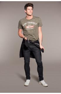 T-Shirt T-SHIRT POLLOCK Homme W18167 (38178) - DEELUXE
