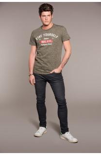 T-Shirt T-SHIRT POLLOCK Homme W18167 (38183) - DEELUXE