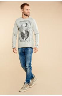 T-Shirt DENILSON Homme W18125 (38193) - DEELUXE