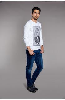 T-Shirt DENILSON Homme W18125 (38195) - DEELUXE