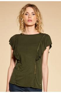 T-Shirt T-Shirt JUNE Femme W18109W (38315) - DEELUXE