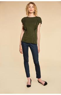 T-Shirt T-Shirt JUNE Femme W18109W (38317) - DEELUXE
