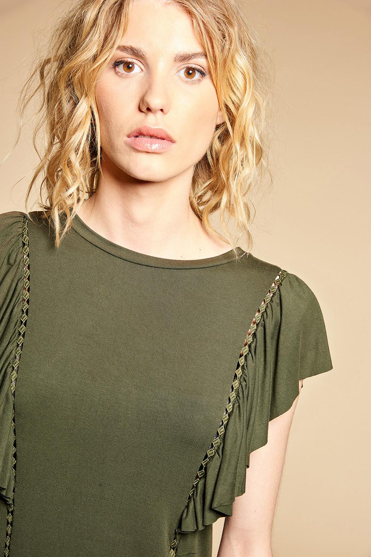 T-Shirt T-Shirt JUNE Femme W18109W (38319) - DEELUXE