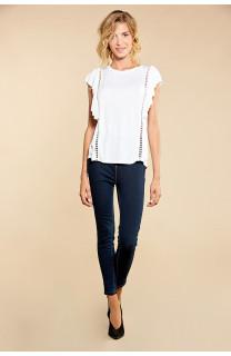 T-Shirt T-Shirt JUNE Femme W18109W (38320) - DEELUXE