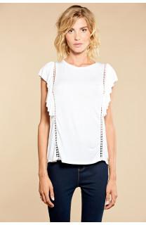 T-Shirt T-Shirt JUNE Femme W18109W (38322) - DEELUXE