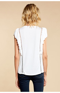 T-Shirt T-Shirt JUNE Femme W18109W (38323) - DEELUXE