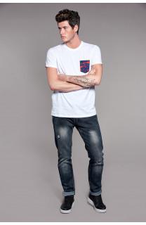 T-Shirt TALK Homme W18110 (38709) - DEELUXE