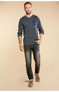 T-Shirt T-SHIRT DISASTER Homme W18131 (38748) - DEELUXE