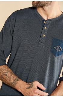 T-Shirt T-SHIRT DISASTER Homme W18131 (38751) - DEELUXE