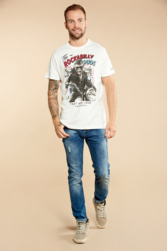 T-shirt ROCKABILLY Outlet Deeluxe