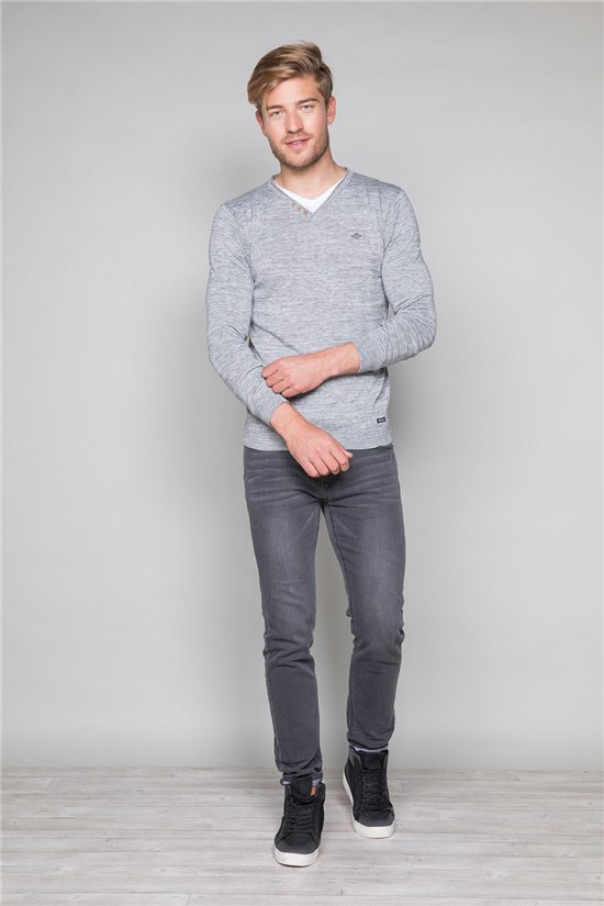 Pull SINGLE Homme W18316 (38868) - DEELUXE