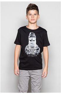 T-Shirt TELLIER Garçon W18116B (39450) - DEELUXE