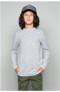 T-Shirt T-SHIRT MOHANSON Garçon W18119B (39465) - DEELUXE