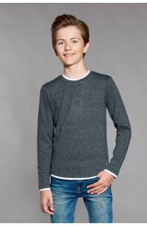 T-Shirt T-SHIRT MOHANSON Garçon W18119B (39466) - DEELUXE
