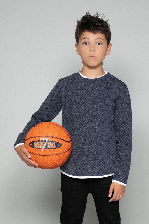T-Shirt T-SHIRT MOHANSON Garçon W18119B (39468) - DEELUXE