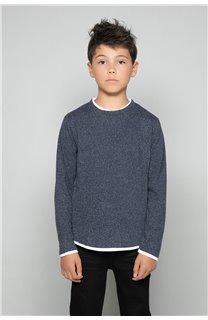 T-Shirt T-SHIRT MOHANSON Garçon W18119B (39469) - DEELUXE