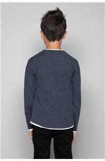 T-Shirt T-SHIRT MOHANSON Garçon W18119B (39470) - DEELUXE