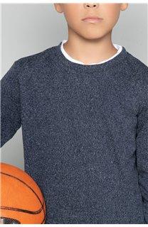 T-Shirt T-SHIRT MOHANSON Garçon W18119B (39471) - DEELUXE