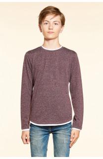 T-Shirt T-SHIRT MOHANSON Garçon W18119B (39474) - DEELUXE