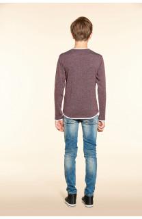 T-Shirt T-SHIRT MOHANSON Garçon W18119B (39475) - DEELUXE