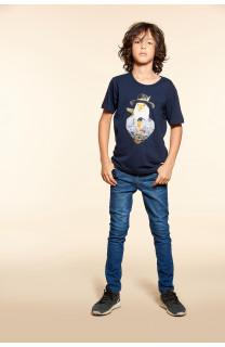 T-Shirt EAGLE Garçon W18140B (39509) - DEELUXE