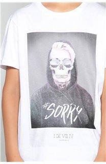 T-Shirt JUST Garçon W18143B (39513) - DEELUXE